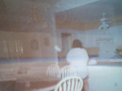 This Is an Orb Attacking My Mom. LOL