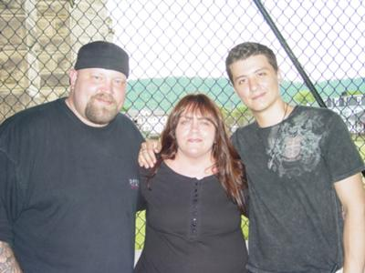 Chad Calek, Polly ( Mountaineer Paranormal), and Ryan Buell