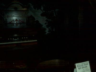 Stage in Whaley Theatre